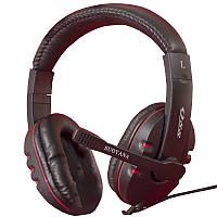 Игровая стерео гарнитура SOUYANA S-Q88 черная с микрофоном 3.5 jack универсальная проводная для игр музыки пк