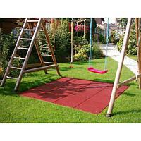 Резиновое спортивное (напольное) покрытие для детских площадок, спортзала 35мм OSPORT (П35)