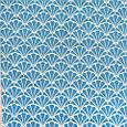 Декоративна тканина для штор, з принтом небесно-блакитний, фото 2