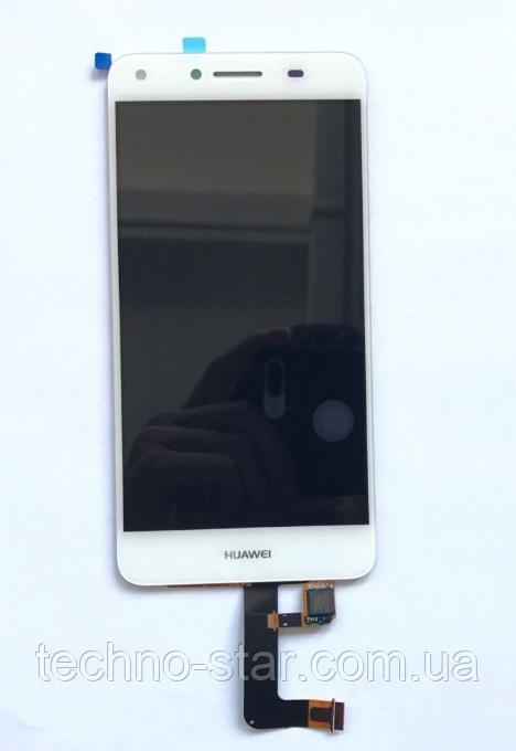 Оригінальний дисплей (модуль) + тачскрін (сенсор) для Huawei Y5 II   Honor Play 5   Honor 5 Play (білий колір)