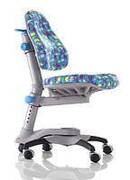 АКЦИЯ! Скидка на детское кресло «Оксфорд» KY-618BA, обивка голубая со зверятами, фото 1