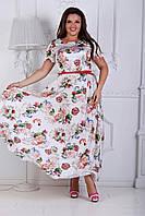 Платье женское летнее большого размера, фото 1