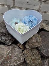 Коробка-серце з прозорою кришкою