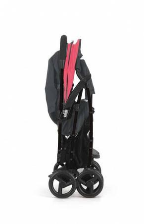 прогулочная коляска CURVI, красная, фото 2