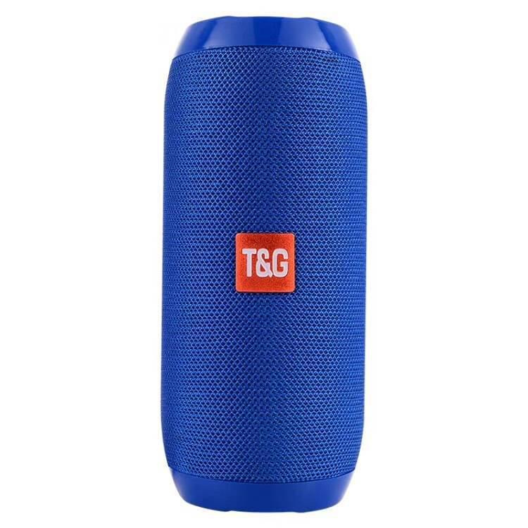 Колонка Bluetooth TG-117 blue (реплика)