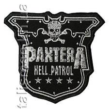 Нашивка с вышивкой PANTERA Hell Patrol