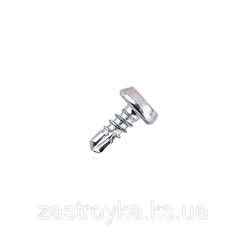 Саморез с буром BudMonster 3,5х9,5 мм (оц.), 1000 шт  (Россыпью 0,11грн/шт)