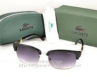 Солнцезащитные очки Lacoste эффектная модель лета 2018 Лакоста качественная реплика
