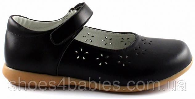 Туфли для девочки ортопедические р. 27-35 Sursil Ortho (Сурсил Орто) модель 33-430 черные
