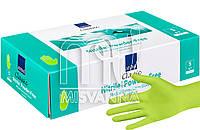 Перчатки нитриловые без талька Abena Green Apple 100 шт., салатовые S