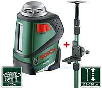 Bosch PLL 360 + TP320 нивелир с телескопической штангой
