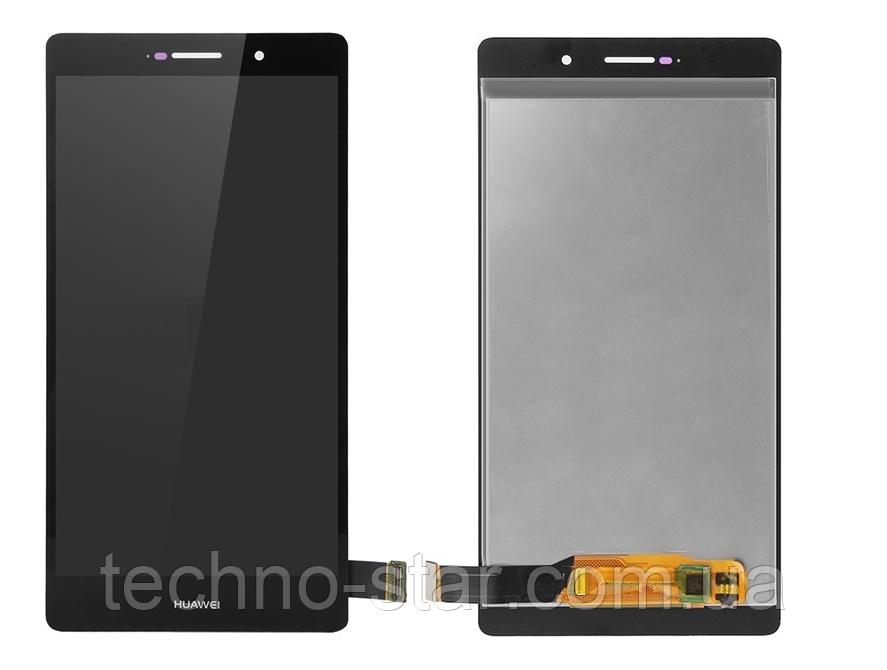 Оригинальный дисплей (модуль) + тачскрин (сенсор) для Huawei P8 Max (черный цвет)