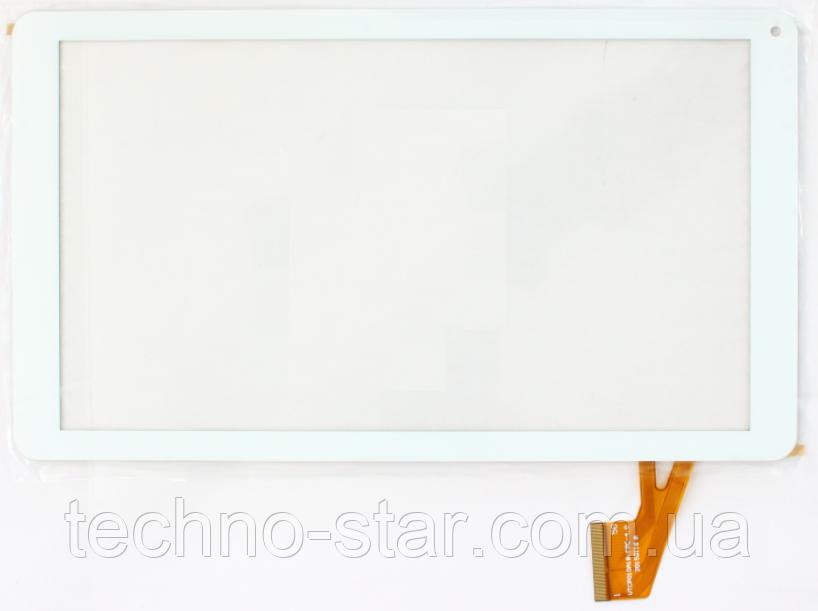 Оригинальный тачскрин / сенсор (сенсорное стекло) для DEXP Ursus 10EV 3G (белый цвет, тип 2, самоклейка)
