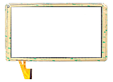 Оригинальный тачскрин / сенсор (сенсорное стекло) для DEXP Ursus 10EV 3G (белый цвет, тип 2, самоклейка), фото 2
