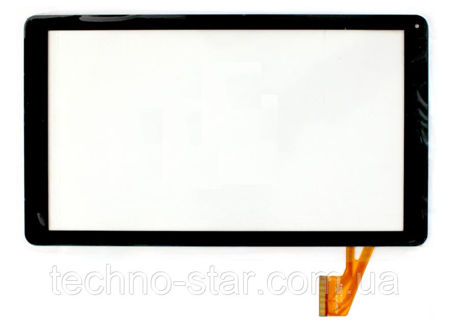 Оригинальный тачскрин / сенсор (сенсорное стекло) для Digma Optima 10.8 3G (черный цвет, самоклейка)