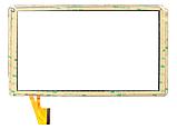 Оригинальный тачскрин / сенсор (сенсорное стекло) для Digma Optima 10.8 3G (белый цвет, самоклейка), фото 2
