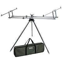 Подставка DAM Alu Rod Pod Gunsmoke для 3 удилищ