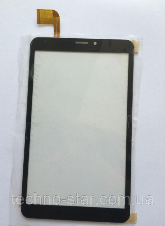 Оригинальный тачскрин / сенсор (сенсорное стекло) для Prestigio MultiPad Grace PMT3118 3G (черный, самоклейка)