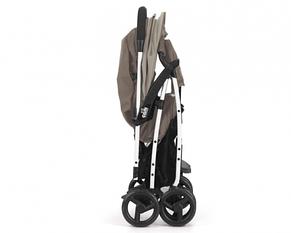 Прогулочная коляска CURVI, бежевая меланж, фото 2