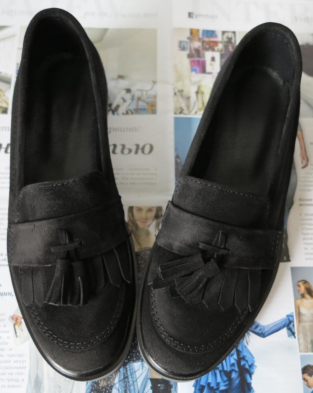 c31f00c80dbd СУПЕРСКИЕ Лоферы обувь в стиле Loafer женские классические туфли лоуферы  черные ...