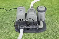 Хлоргенератор с картриджным фильтрующим насосом Intex (5 г/час, 4542 л/час) (28674)