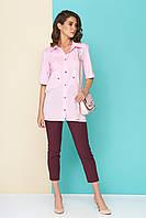 Хлопковая блуза-рубашка, фото 1