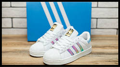 Кроссовки женские Adidas Superstar 30972 адидас суперстар белые