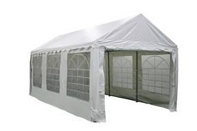 Шатер Садовый ТЕ-1817 Белый размер 3 х 6 метра (Time Eco TM)