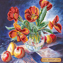 АС-433. Схема Натюрморт з тюльпанами.