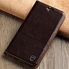 """Nokia Lumia 1520 оригинальный кожаный чехол книжка из НАТУРАЛЬНОЙ ТЕЛЯЧЬЕЙ КОЖИ противоударный """"ETINELLE"""", фото 2"""