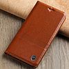 """Nokia Lumia 1520 оригинальный кожаный чехол книжка из НАТУРАЛЬНОЙ ТЕЛЯЧЬЕЙ КОЖИ противоударный """"ETINELLE"""", фото 5"""