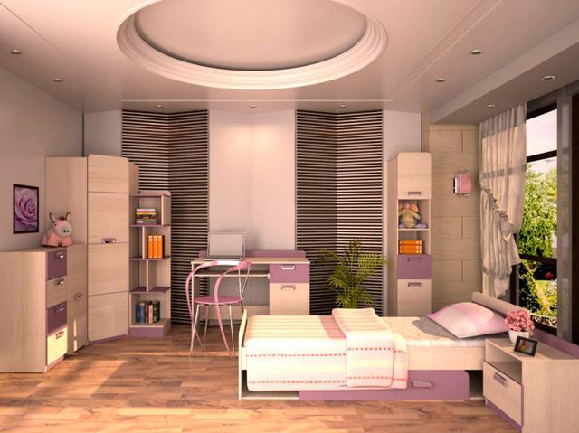 Детская комната Jasmine цвет Коимбра / виолет (комплект 2)