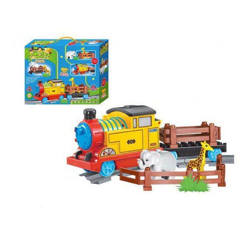 Конструктор Jixin 9588B, Поїзд, у коробці 34 * 8 * 26,5 см