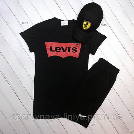 Летняя футболка и шорты Levis (Реплика), фото 2