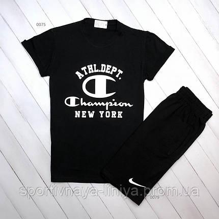 Летняя футболка и шорты Champion (Реплика), фото 2