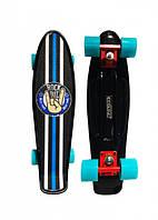Скейт Ecoline Penny Board Glas-2 с гриптейпом