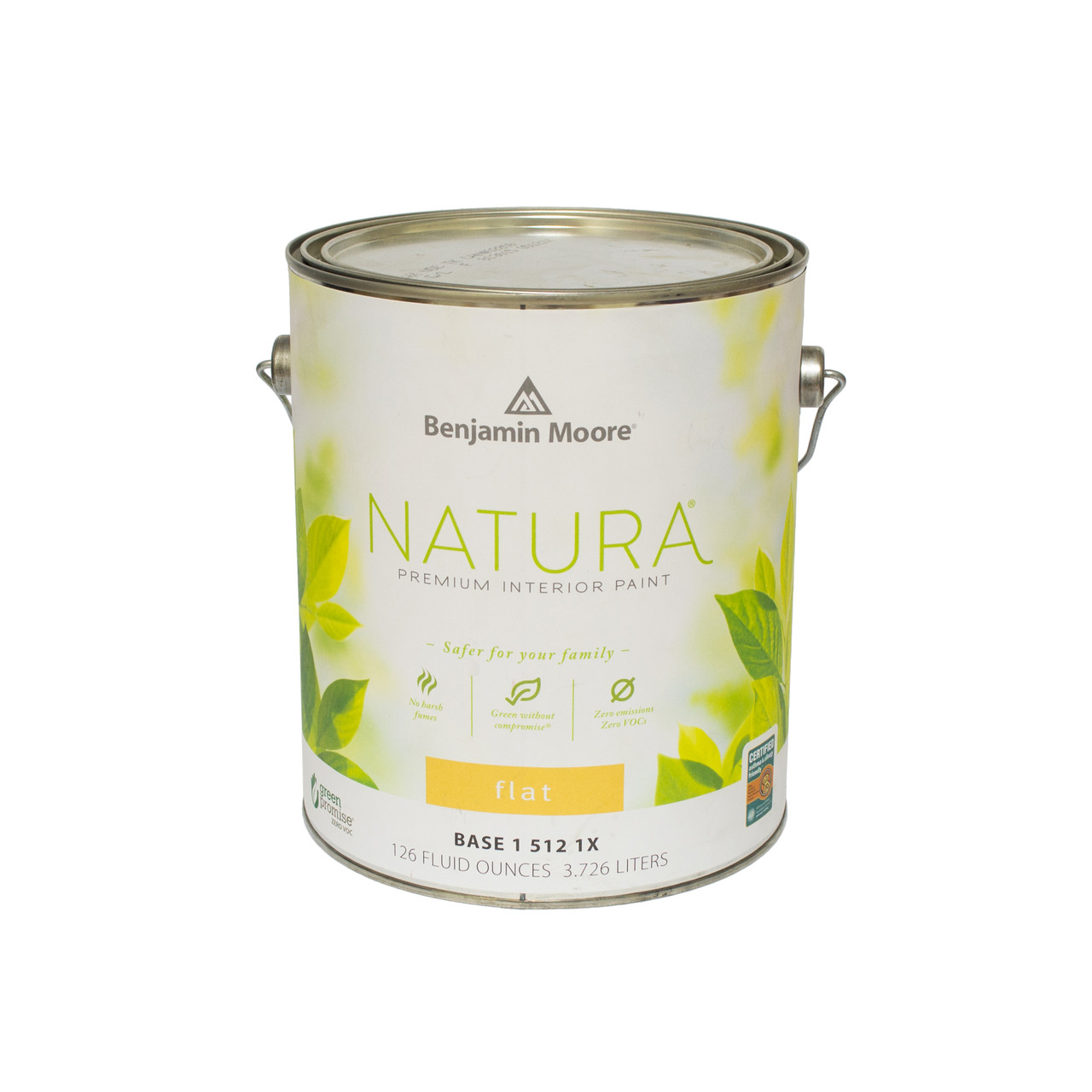 Краска интерьерная  Benjamin Moore Natura interior Waterborne Flat Paint (512) 3,78л