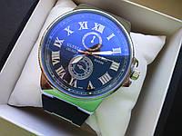 Часы Ulysse Nardin Black Silver 358