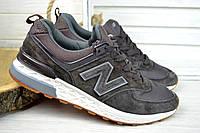 Кроссовки мужские New Balance 574 коричневые 2605