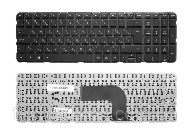 Клавиатура для HP DV6-7000 DV6-7100 DV6-7200 DV6-7300 DV6t-7000 (раскладка RU, вертикальный Enter, тип 3)