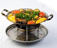 Хотите удивить гостей-подайте шашлык на красивом блюде!