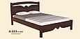 Кровать деревянная  Л-223 1,8, фото 2