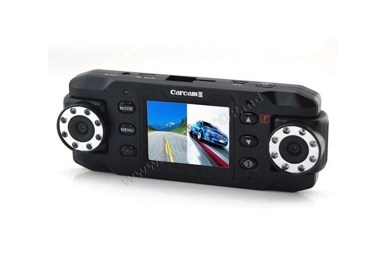 Автомобильный видеорегистратор + GPS CarCam 3 УЦЕНКА (210639)