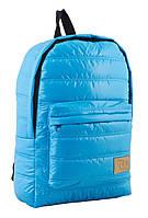 Стильный  подростковый рюкзак ST-15  голубой  ТМ 1 Вересня, фото 1