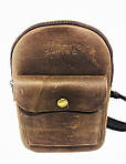Мужская стильная сумка VS006 Crazy horse brown, фото 2
