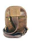 Мужская стильная сумка VS006 Crazy horse brown, фото 3