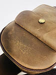 Мужская стильная сумка VS006 Crazy horse brown, фото 6