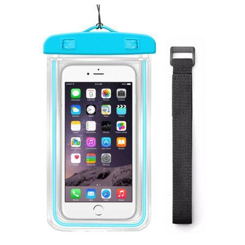 Чехол для телефона водонепроницаемый с ремнем на руку 10,5x18см C25230