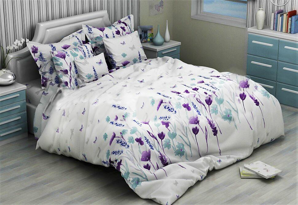 Двуспальный набор постельного белья Бязь