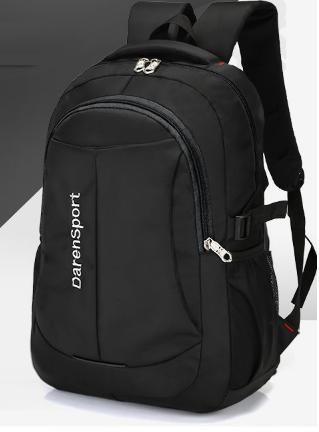 Рюкзак спортивный черный DerenSport
